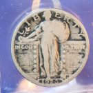 1926-S Standing Liberty Quarter.  Average Circualted Coin.  BX-5857