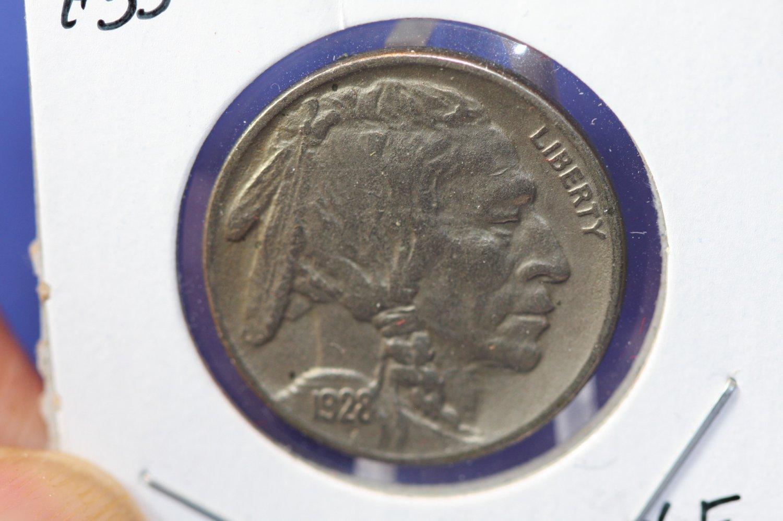 1928-S Buffalo Nickel. Choice Extra Fine Coin. CS#7552