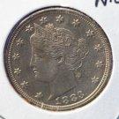 1883 Liberty Nickel. NICE BOLD STRIKE. AU Coin. CS#7763