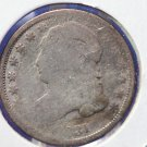1831 Capped Bust Dime. Well Circualted Condition. * Damaged * . CS # 8150