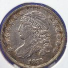 1835 Capped Bust Dime. * Problem Free Extra Fine Circualted Condition. CS#8154