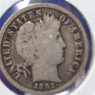 1893 Liberty Head Dime. Average Circualted Condition. CS#8398