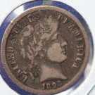 1893-O Barber Dime. Partial Liberty. Nice Full Rim's On Reverse and Obverse. CS#8400