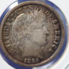 1896 Barber Dime. Nice LIBERTY, Slight Rim Dings. Nice Collectible Coin. CS#8422