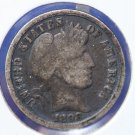 1898-O Barber Dime. Affordable Circualted Coin. Full Head. *Good Deal* CS#8444