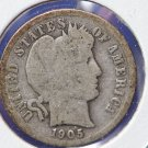 1905 Liberty Head Dime. Affordable Circualted Coin. Large Store-Front Selection. CS#8492/94/96