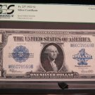 1923 $1 Silver Certificate * Large Note * PCGS AU 55 * Nice Bold Colors *