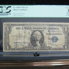 "1935 A $1 Silver Certificate.  ""Short Snorter' - U.S. Navy - Dated 6/18/44 -"