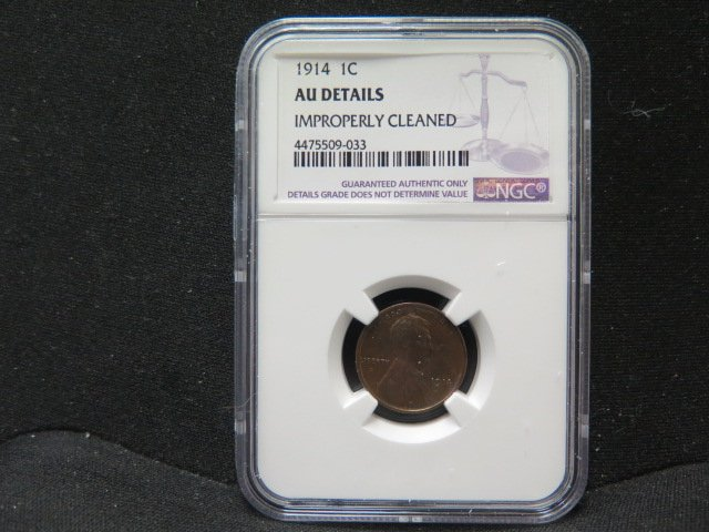 1914 1C Lincoln Wheat Penny.  Very Nice Eye Appeal. Excellent Collectible Coin.