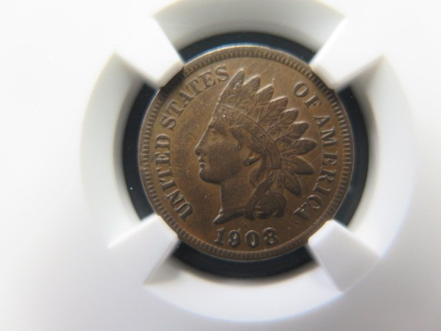 1908-S 1C Indian Head Penny - Authentic NGC Holder - XF45 - Collectible Coin -