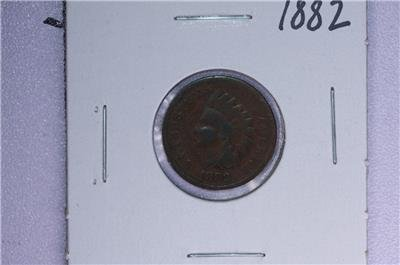 1882 1C. Indian Head Penny.  Good Circulated Condition. Coin Store Sale #1694