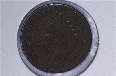 1885 1C. Indian Head Penny.  Good Circulated Condition. Coin Store Sale #1700