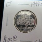 1999-S Washington State Silver Proof Quarter. GEM SILVER. Pennsylvania Silver.
