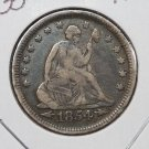1854 25C Seated Liberty Quarter. Very Fine Circulated Condition. Store #1756
