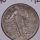 1920 Standing Liberty Quarter. Very Fine Circulated Coin.  Sale #2423