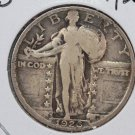 1926-S Standing Liberty Quarter. Fine Circulated Coin. SALE #2451