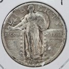 1927 Standing Liberty Quarter. Fine Circulted Coin. Store #2453