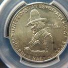 1920 50C Pilgrim Commemorative.  Nice PCGS MS63. Affordable Coins.