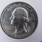 1959-D 25C Washington Silver Quarter. Gem Brilliant UN-Circulated. SALE  #9618