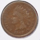 1867 1C Indian Head Penny.  Very Good and Affordable Coin. Store Sale#2507