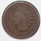 1869 1C Indian Head Cents. Good Circulated Coin. Store Sale #2517