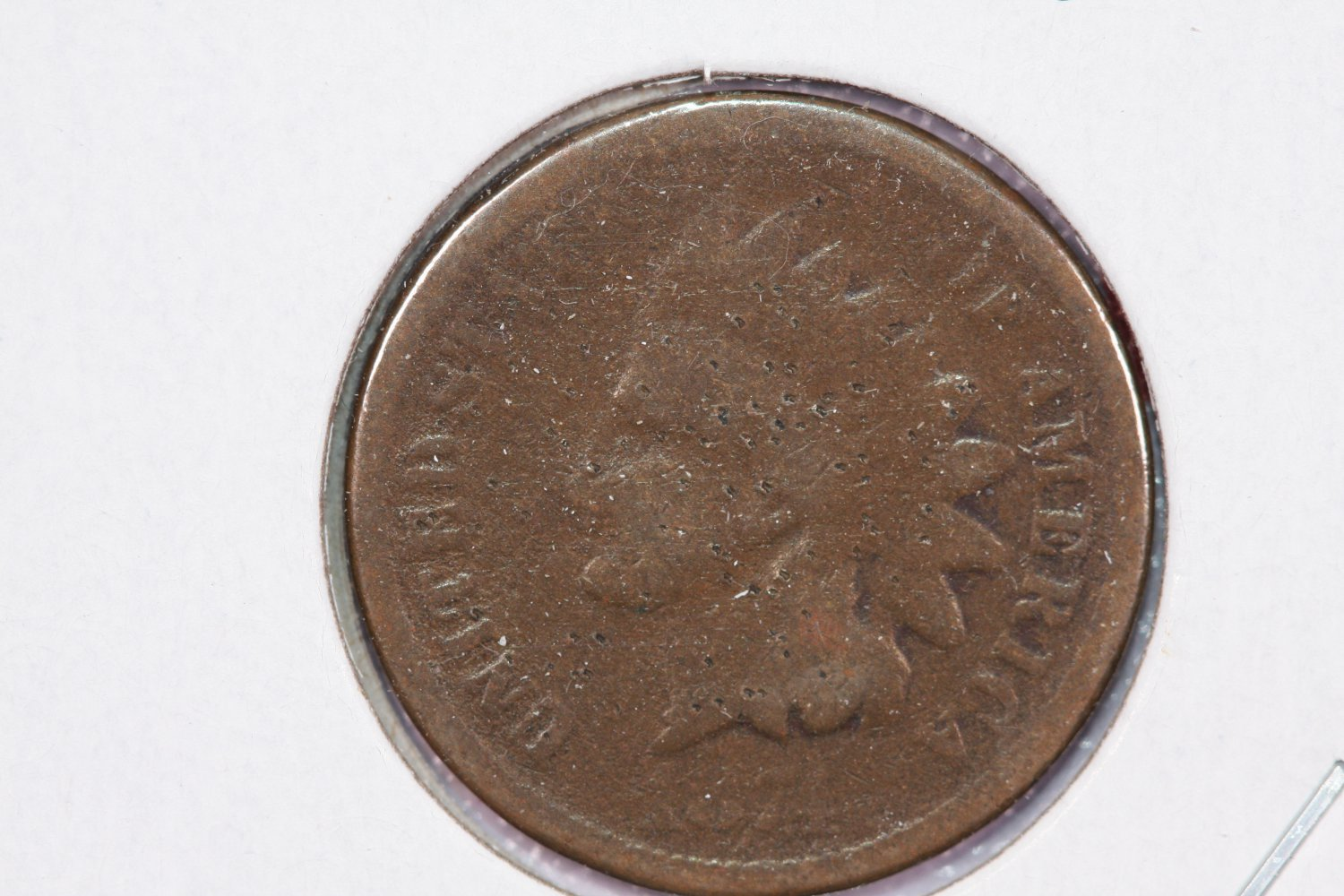 1874 1C Indian Head Cents, Good Circulated Condition. Store Sale#2537