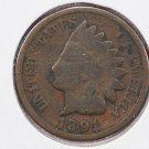 1881 1C Indian Head Cents. Good Circulated Coin.  Store Sale #2565