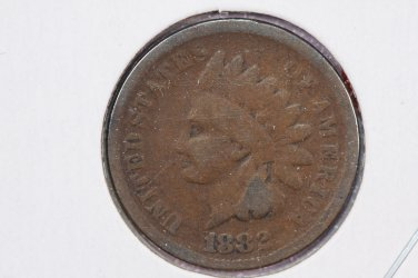 1882 1C Indian Head Penny. Very Good Circulated Condition. STore Sale#2367