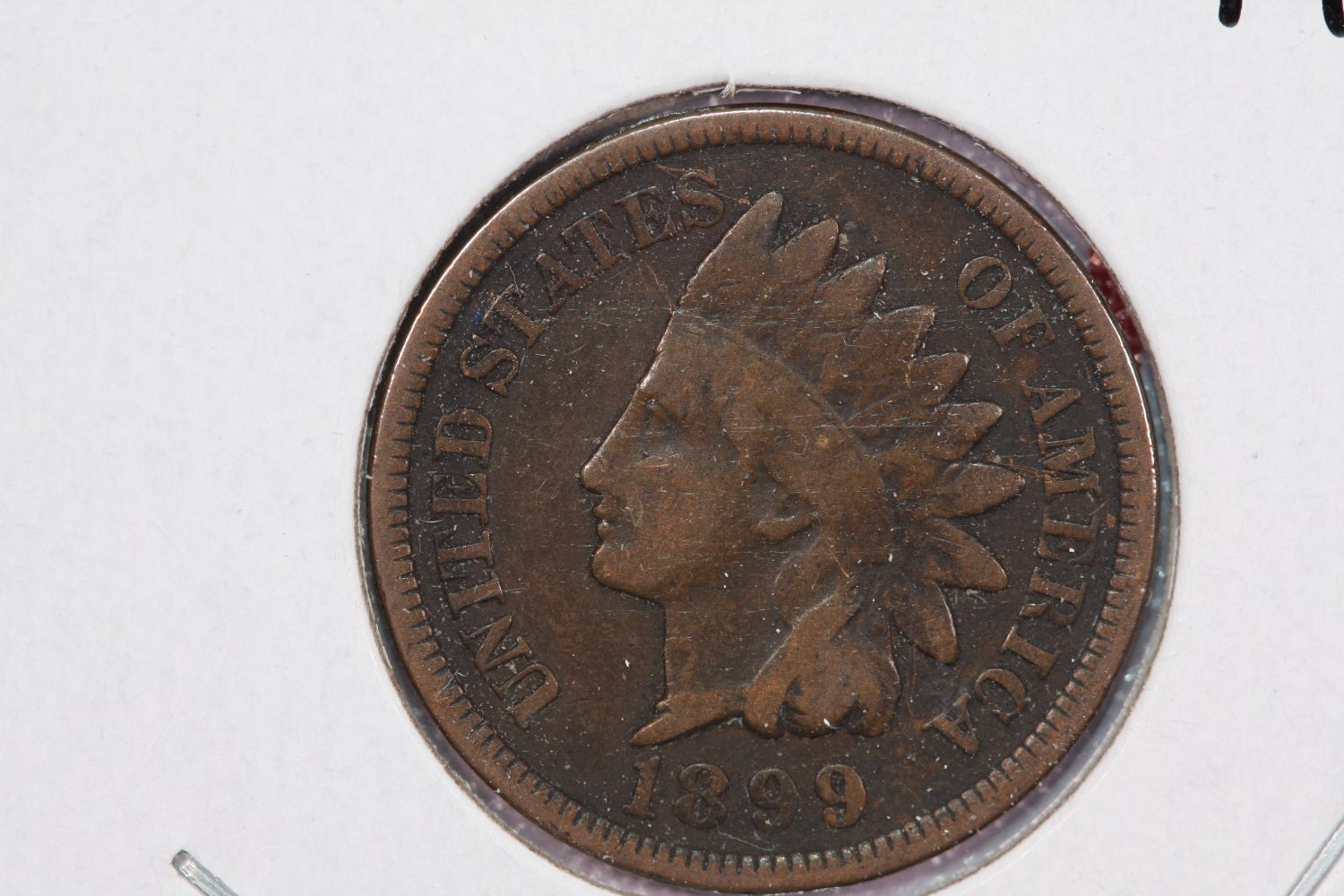 1899 1C Indian Head Cents. Good Circulated Coin. LARGE COIN STORE SALE #2635