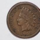 1906 1C Indiain Head Cents. Choice Very Good Circulated Coin. Super Sale #2661