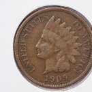 1909 1C Indian Hean Penny. Good Circulated Condition. Super Sale #2677