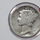 1920 10C Mercury Silver Dime. Good Circulated Coin. STORE #2705