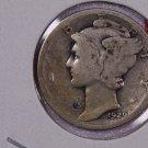 1929-D 10C Mercury Silver Dime. Good Circulated Coin. STORE #2751
