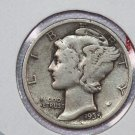 1935-S 10C Mercury Silver Dime. Good Circulated Coin. Sale # 2771