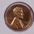 1959 1C Lincoln Memorial Penny. Choice Brilliant Proof UN-Circulated Coin.