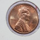 1969-D 1C Lincoln Memorial Penny. Brilliant UN-Circulated Coin.
