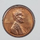 1972-S 1C Lincoln Memorial Penny. Brilliant Red UN-Circulated Coin.