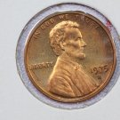 1975-S 1C Lincoln Memorial Proof Penny. Choice Red Proof. Store #3463