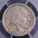 1913-D 5C Buffalo Nickel.  Type-2.  Harder Date. PCGS Certified.  VF-20.