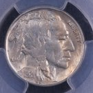 1921-S Buffalo Nickel. Nice Hard Date.  PCGS Graded MS-64.  FULL HORN.