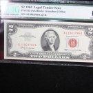$2 1963 Legal Tender Note.  PMG  Choice UN-Circulated 66.  E.P.Q. #3799