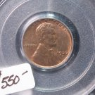 1926-D Lincoln Penny.  PCGS Certified.  MS-64 R/B.  QA. Verified.  Nice Collectible.