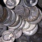 90% Silver Sale.  50 Coin Roll. = $5 Face Value.  All Mercury Dimes.