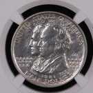 1921 Alabama Silver Half Dollar Commemorative Coin.  2 X 2.  NGC AU Details.