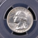 1938-S Washington Silver Quarter.  Harder Find In Grade.  PCGS MS 65.