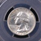 1938-S Washington Silver Quarter.  Harder Find In Grade.  PCGS MS 65.