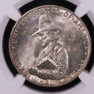 1920 Pilgrim Silver Half Dollar, Commemorative Coin.  NGC Certified.  MS 63.