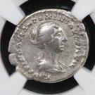 Roman Empire. Faustina Jr. AD 147-175/6. Golden Age Hoard. NGC Graded.