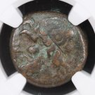 Greek Ancient Coin.  Sicily, Syracuse. Heron II, 275 - 215 B.C.  NGC Graded.