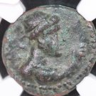 KUSHAN Kingdom, Ancient Coin.  1st - 2nd Centuries AD. NGC Graded. Very Fine.